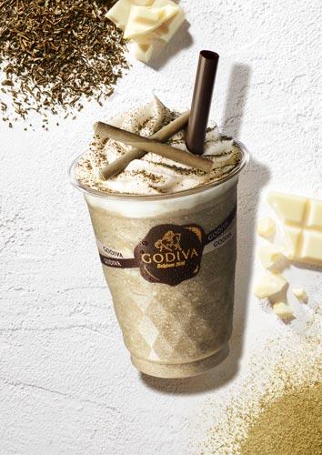 ゴディバ ショコリキサー ホワイトチョコレート ほうじ茶