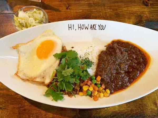 日吉 HI,HOW ARE YOU(ハイ,ハウ アー ユー)「ハーフ&ハーフ」