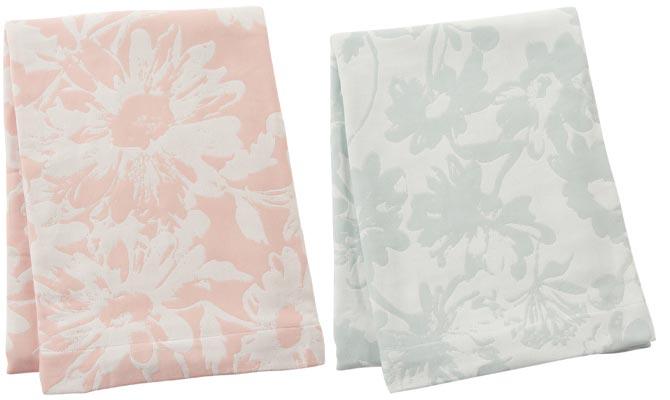 バニア サマーブランケット(毛布)ピンク/グリーン