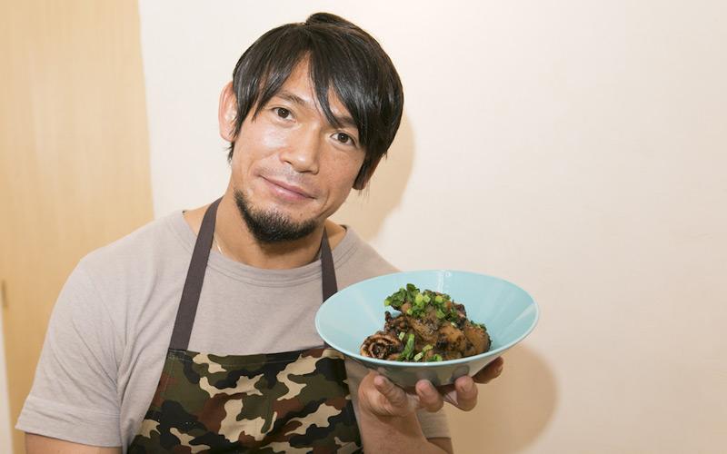 イカスミ風 いかと大根の海苔煮 YAMATO