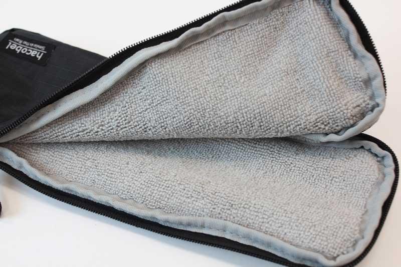折りたたみ傘専用ケース「吸水傘ケース 2way」 マイクロファイバー