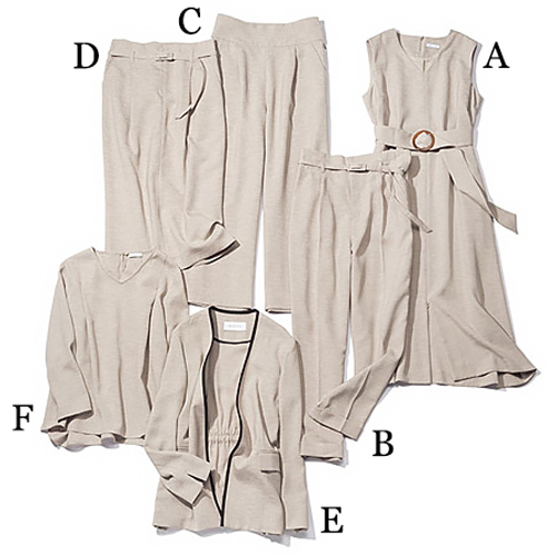 ホワイト ザ・スーツカンパニー|WHITE THE SUIT COMPANY ベージュのカセット服