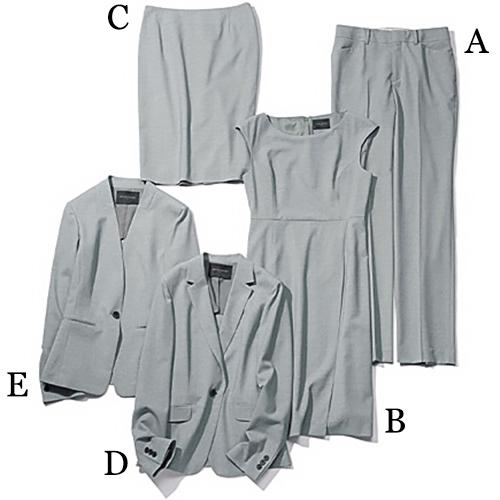 ユナイテッドアローズ|UNITED ARROWS グレーのカセット服