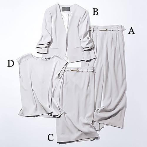 B ablility「グレーカセット服」