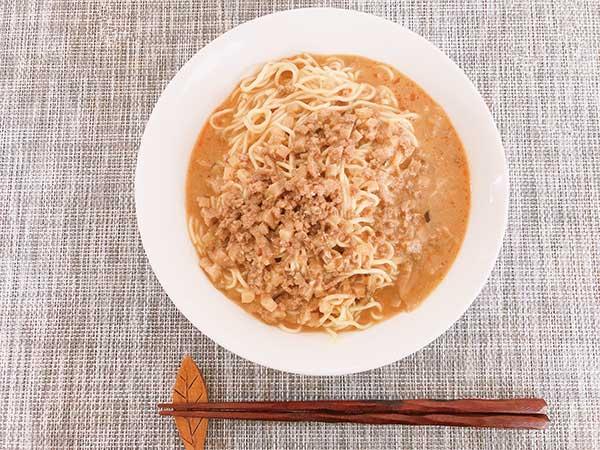 胡麻味噌坦々スープを実食