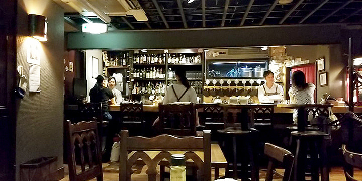 BREWIN`BAR 主水-monde- 店内