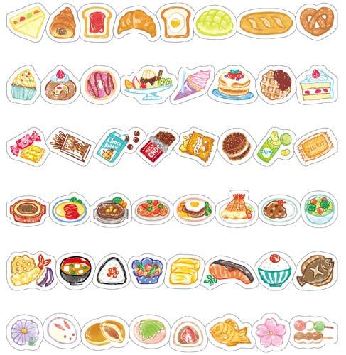 ぺたロール・デザイン 食べ物デザイン