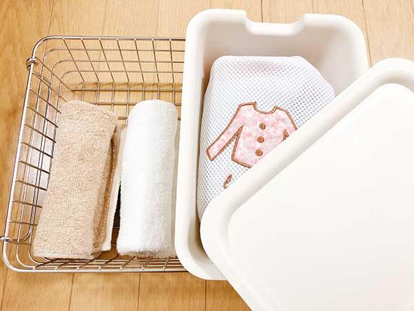 洗面所:バス用品・洗剤などの収納