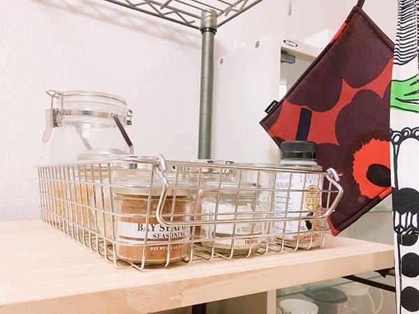 キッチン:調味料・乾物などの収納