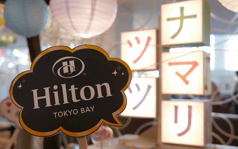 ヒルトン東京ベイのデザートビュッフェ「ナツマツリ」