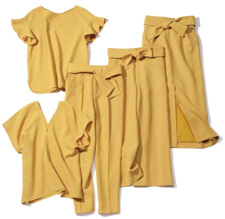 【3】イエローのカセット服