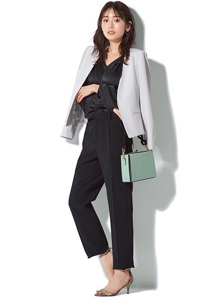 B ablility「グレーカセット服」1weekコーデ