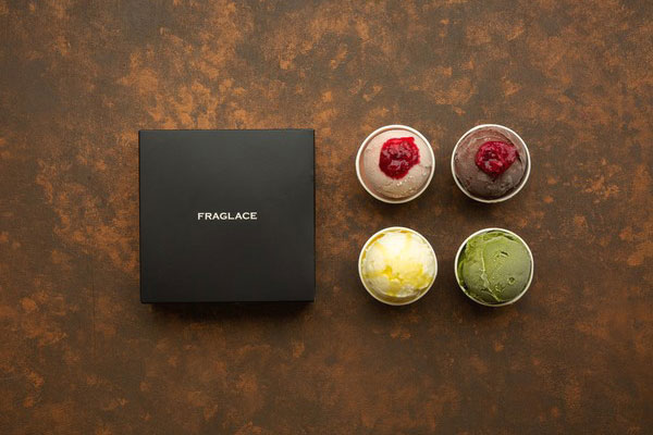 FRAGLACE/4種のスペシャリテ・アイスクリーム