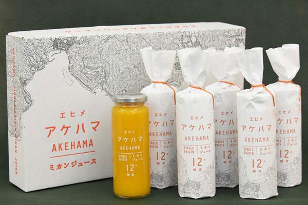 JA全農えひめ/シングルオリジン エヒメ アケハマ12°ミカンジュース