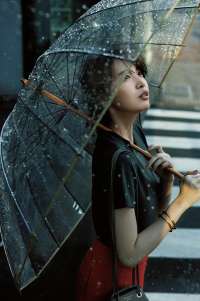 サードマガジン「ビニール傘」