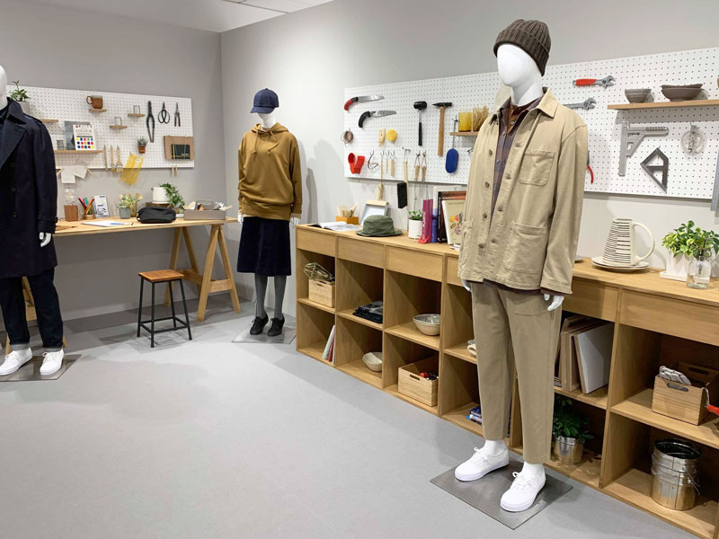 UNIQLO2019FW展示会 テーマ「WORK&CRAFT」