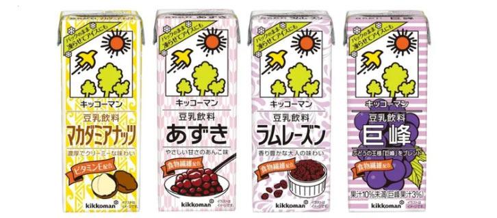 豆乳アイス マカダミアナッツ/あずき/ラムレーズン/巨峰