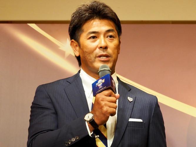 日本代表(侍ジャパン)の稲葉篤紀監督
