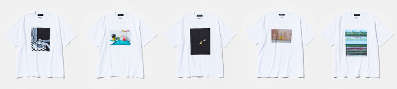 ART PROJECT「STYLED IN PHOTOGRAPHY」Tシャツ