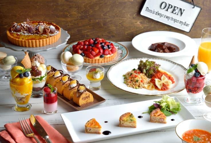 ホテル椿山荘東京「大人の料理体験教室&スイーツランチブッフェ」