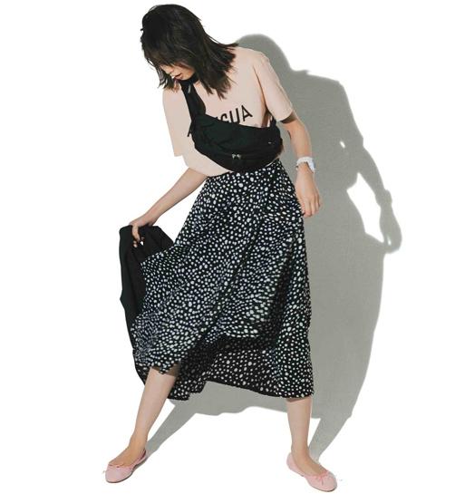 【VONDEL フォンデル】のスカート着回し