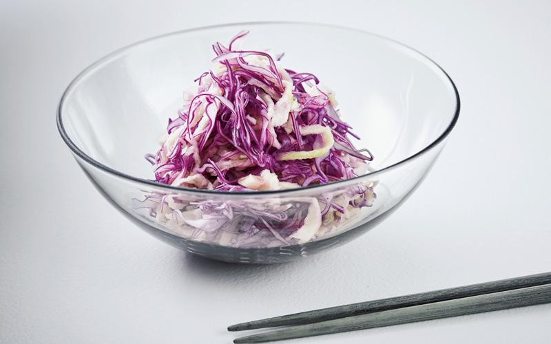 紫キャベツと切干大根のソムタム
