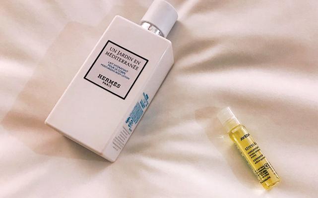 エルメスの「地中海の庭」の香り ボディローション