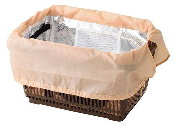 折りたたみレジカゴ用バッグ レジかごサイズのエコバッグ