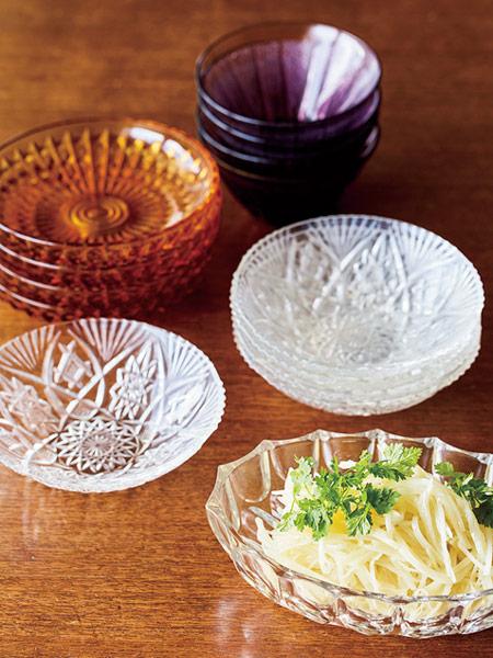 昭和レトロなガラス