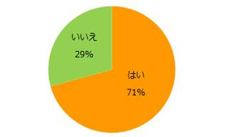 Q.今の仕事は効率的に働けていますか? 結果グラフ