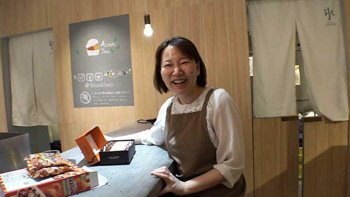 かき氷専門店 店主・岡田桂子さん