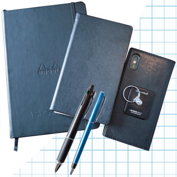 お気に入りのノートとペンを用意する