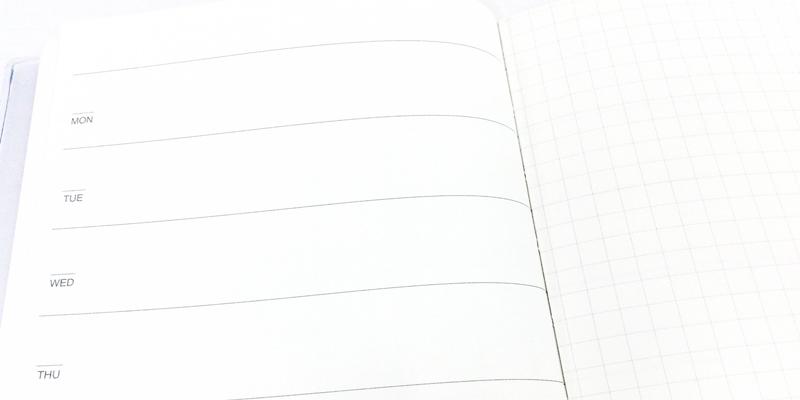無印良品「フリースケジュールノート」