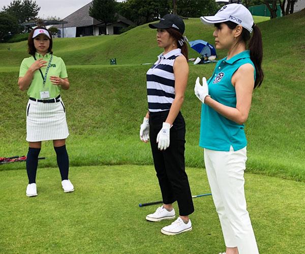 ゴルフピラティス体験