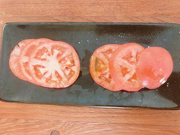 トマト【檸檬オリーブオイルを使用】