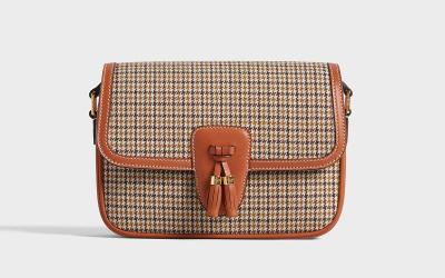 """on sale cdf93 64c65 セリーヌ】の新作バッグは伝統的モチーフ""""タッセル""""をあしらった ..."""