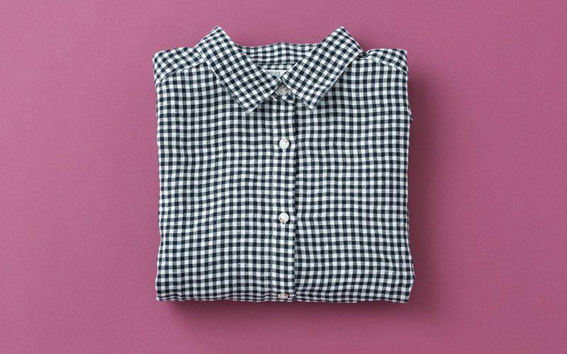 プレミアムリネンチェックシャツ