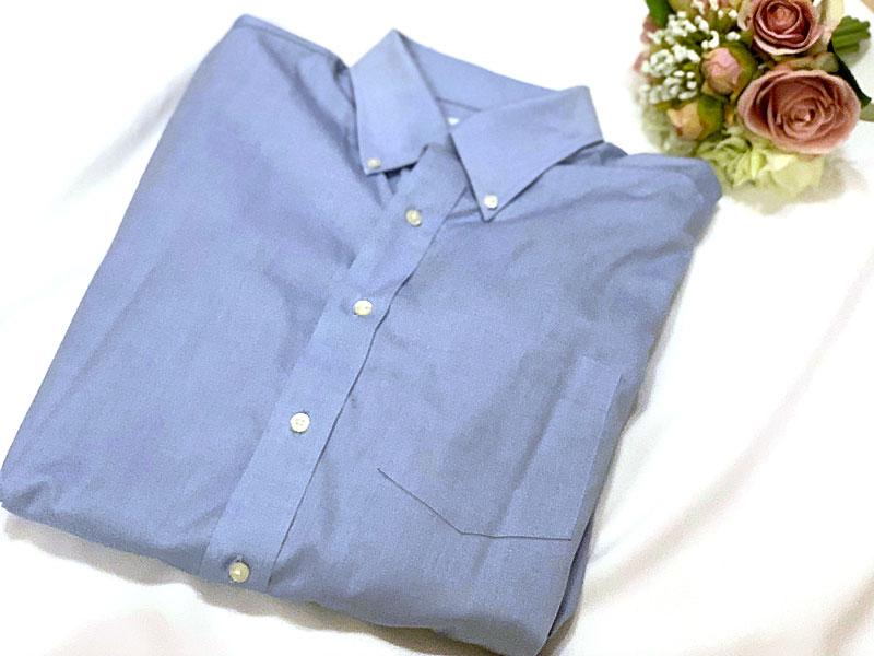 ファインクロススーパーノンアイロンスリムフィットシャツ