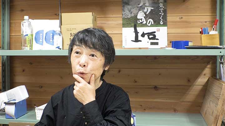 塩職人・山田アリサさん