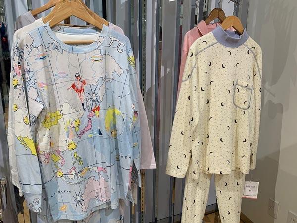 【ワコール】秋冬新製品展示会 パジャマ