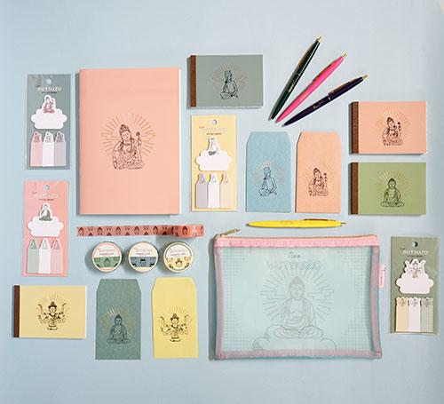 仏像ステーショナリー「NEO仏像」シリーズ