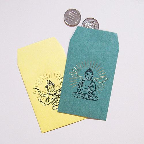 仏像ステーショナリー「NEO仏像」シリーズ ポチ袋