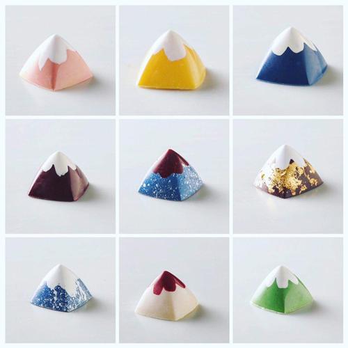 富士山のチョコレート