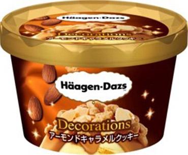 ハーゲンダッツ Decorations「アーモンドキャラメルクッキー」