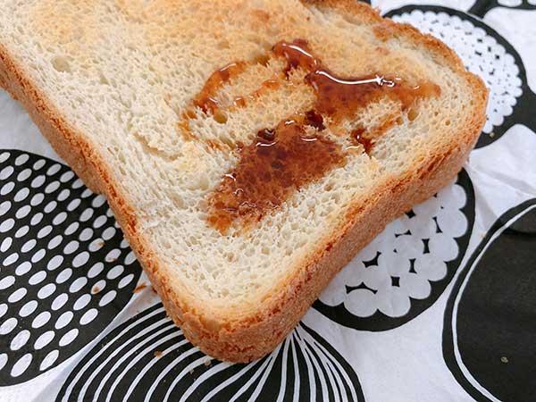 コーヒー蜂蜜 トースト