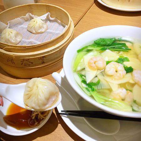 鼎泰豐|ディンタイホン「えび麺セット」