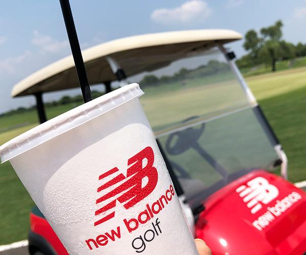 「ニューバランス ゴルフ」ハーフラウンドコンペ