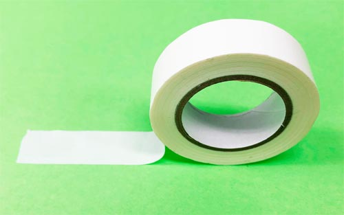 白のマスキングテープ