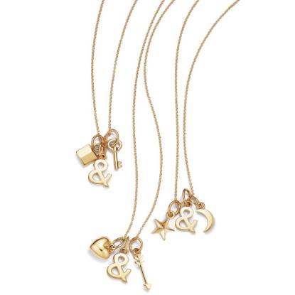 ティファニー「Tiffany & Loveチャームネックレス」