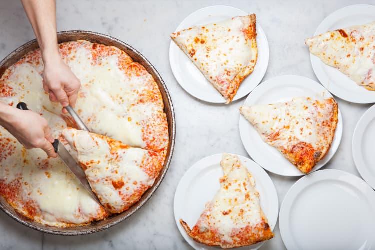 スポンティーニのピッツァ
